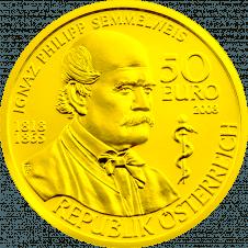Gold Coin Ignaz Philipp Semmelweis