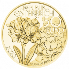 50 Euro gold coin high peaks