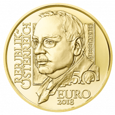 gold coin Alfred Adler Avers