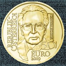 50 euro gold coin Viktor Frankl