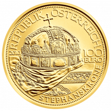 The Hungarian Crown of St Stephen Gold Coin