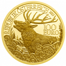 The Red Deer Gold Coin