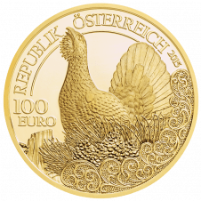 The Capercaillie Gold Coin