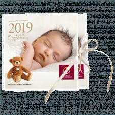 Baby-Euro-Münzensatz 2019