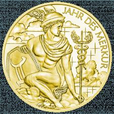 Calendar medal 2019 gold