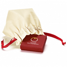 Samtsäckchen mit Etui