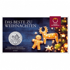 1 ounce silver Vienna Philharmonic christmas edition