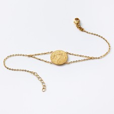 Luck bracelet in gold