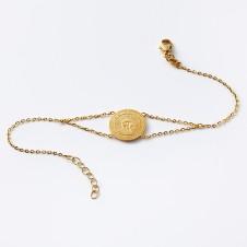 Sun bracelet in gold