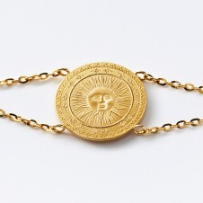 Sun gold bracelet