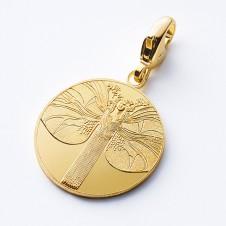 Charm-Anhänger gold Erweckung