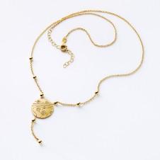 Collier gold Kugeltanz