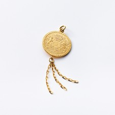 Success Gold Pendant