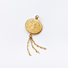 Birth Gold Pendant