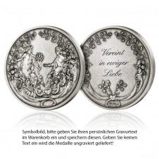 Medaille Hochzeit