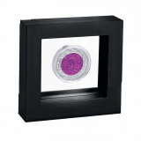 coin frame black for one coin