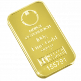 100 gramme gold bar