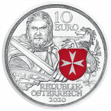 10 Euro Silbermünze Standhaftigkeit