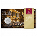 5-euro coin 2016 new years concert blister