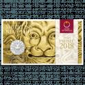 Neujahrsmünze 2018 Silber
