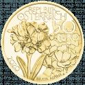 50 Euro gold coin high peaks