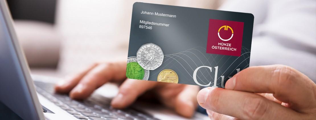 Coin club member card