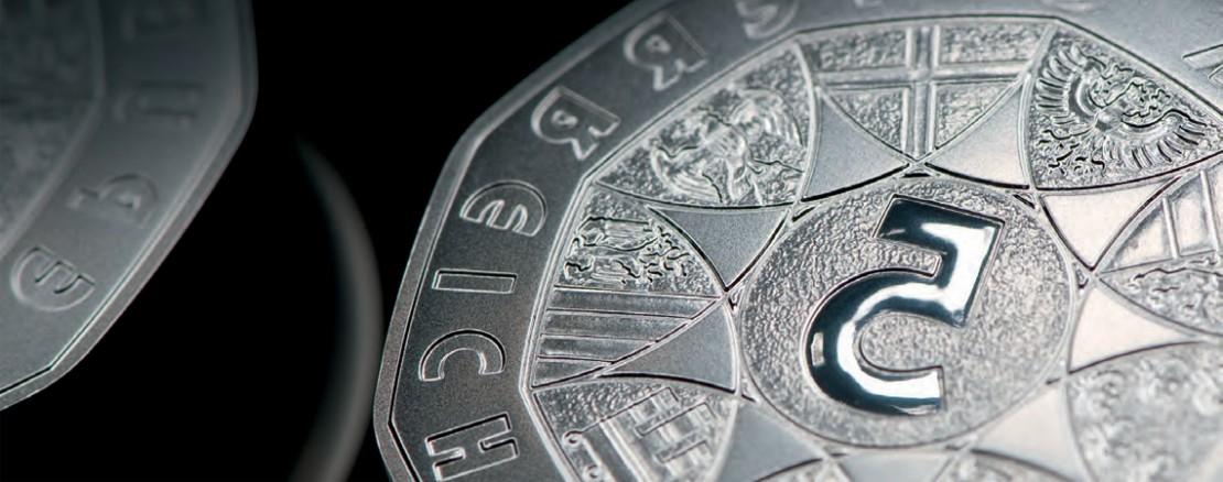 Euro Münzen Der Münze österreich Zum Sammeln Oder Schenken