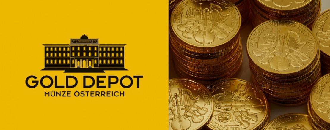 Das GoldDepot der Münze Österreich AG
