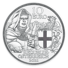 2021 10 euro silver coin brotherhood proof averse