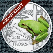 Münzserie 3 Euro Taler Die Bunte Welt Der Tiere