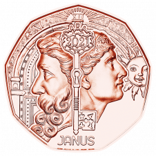 new year coin 2021 - Janus