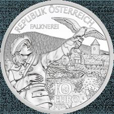 10-Euro-Münze Kärnten Avers