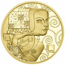 50-euro coin 2013 Klimt reverse