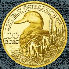 100 Euro Goldmünzen Serie Unseren Wildtieren Auf Der Spur