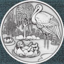 Birth Medal Silver