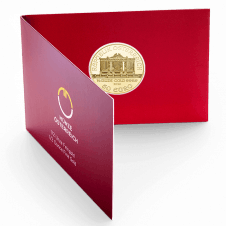 1/2 ounce Vienna Philharmonic gold