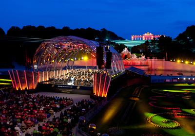 Somernachtskonzert der Wiener Philharmoniker in Schönbrunn