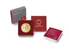 50-Euro-Goldmünze Sigmund Freud im Etui