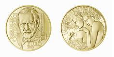 50-Euro-Goldmünze Sigmund Freud