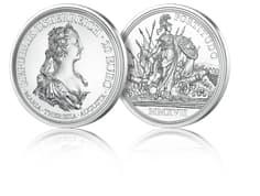 Silbermünze Tapferkeit und Entschlossenheit