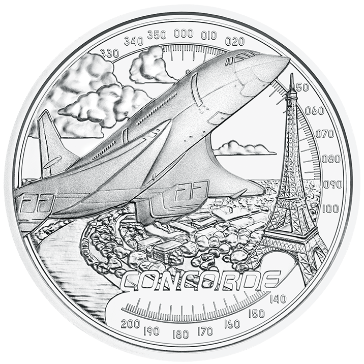 20 Euro silver coin faster than sound