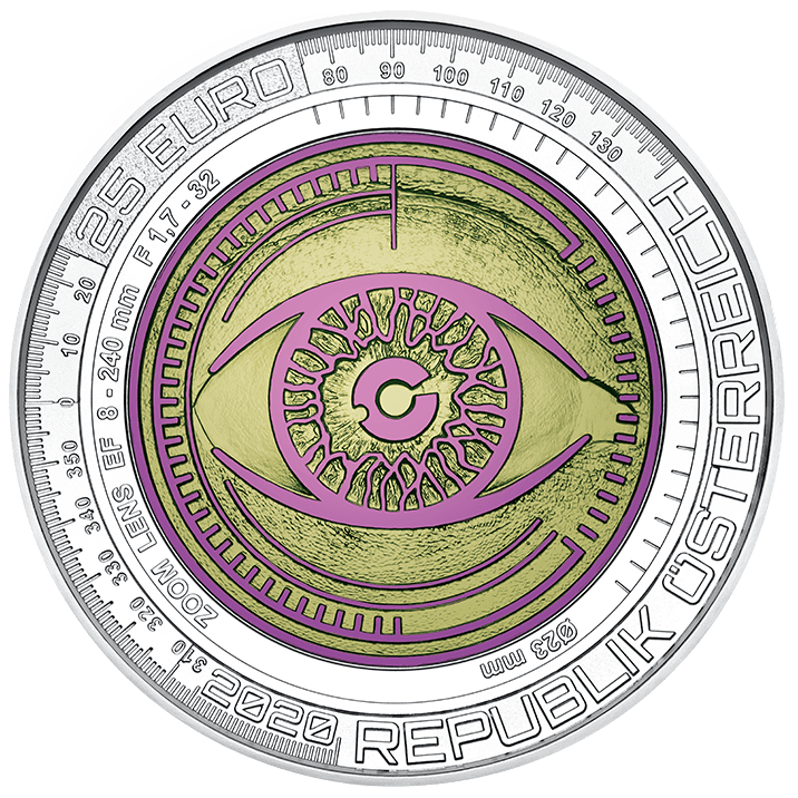 "2020 silver niobium coin ""Big data"""