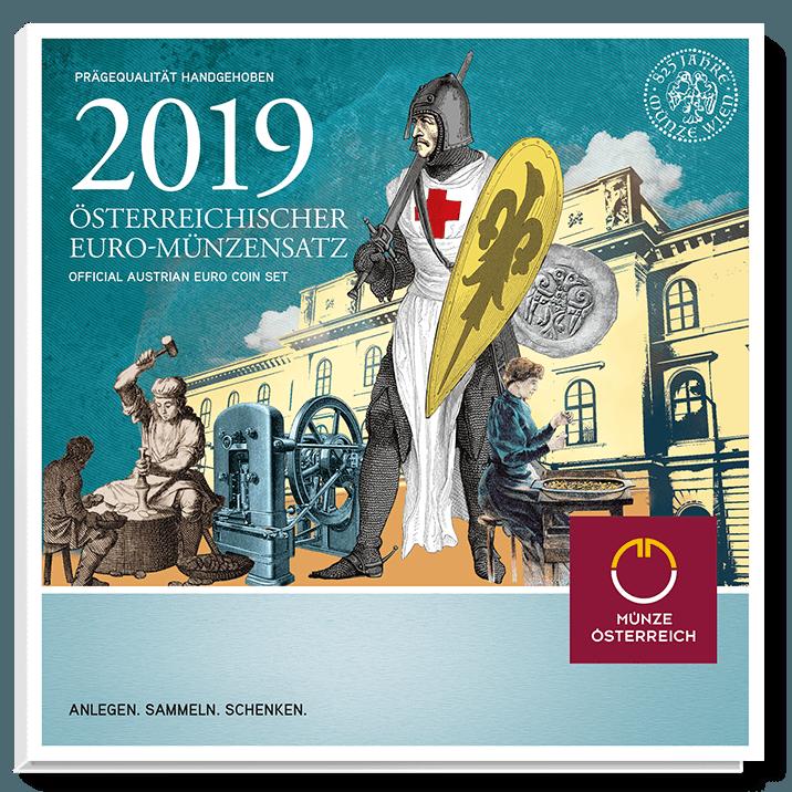 Euro coin set 2019