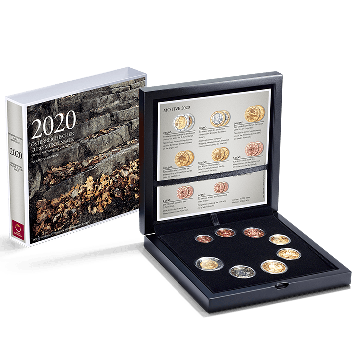 2020 Euro coin set proof