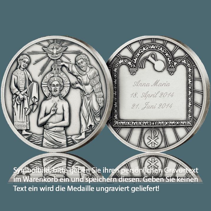 Christening Medal