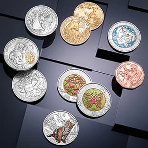 series subscription of the Austrian Mint