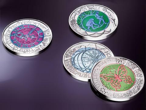 Silber-Niob-Münzen