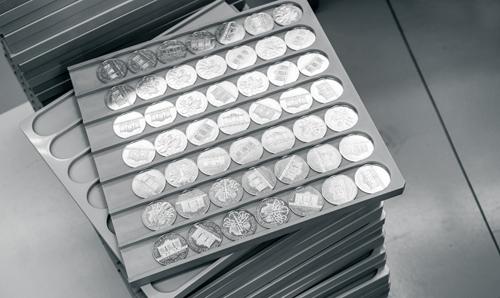 Silbermünzen im Abo