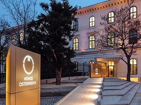 Fassade Münze Österreich