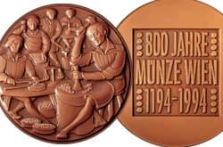 1994 800 Jahre Münze in Wien